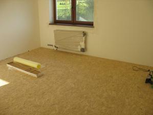 Ještě jednou vymalovat, položit koberec a hotovo :-))