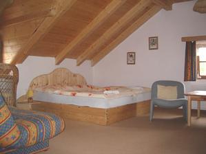 pokoje ve dřevě...božské :o)