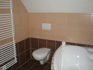 zprovozněná a umytá koupelna