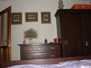 naše stará ložnice - před rekonstrukcí