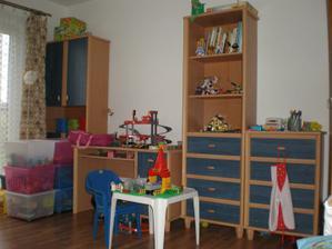 Pokojíček dětí - zatím v jednom
