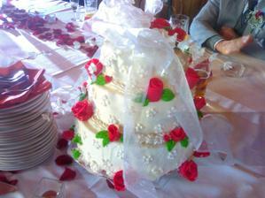 Úžasnej dortík ...