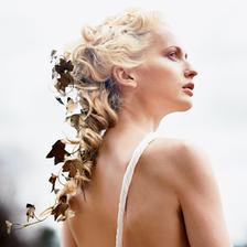 a listopadové vlasy k antickým šatům.....