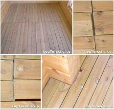 podlaha na balkóně
