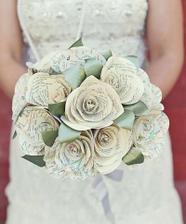 I květina z papíru