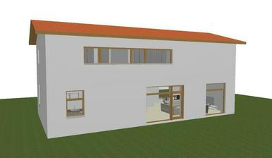 budoucí terasa (opět chybí vyřešení fasády)