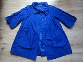 Modrý kabátek, plášť, M&S, velikost 40-42, 40
