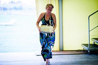 Ženichovo maminka vyhrála v tombole hlavní cenu - rychlokurz potápění :-)