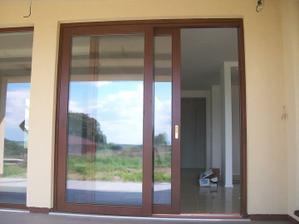 dvere na terasu zrejme podobne