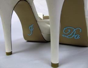 http://www.ebay.com/itm/I-Do-Rhinestone-Wedding-Shoe-Stickers-Something-Blue-Traditional-Wedding-Blue-/330896480406?pt=UK_Women_s_Bridal_Shoes&hash=item4d0af79896