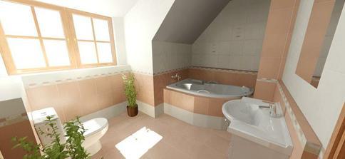 určite lepší než první návrh, jen nevím, jestli odkládací prostor u vany není moc vysoko... ?