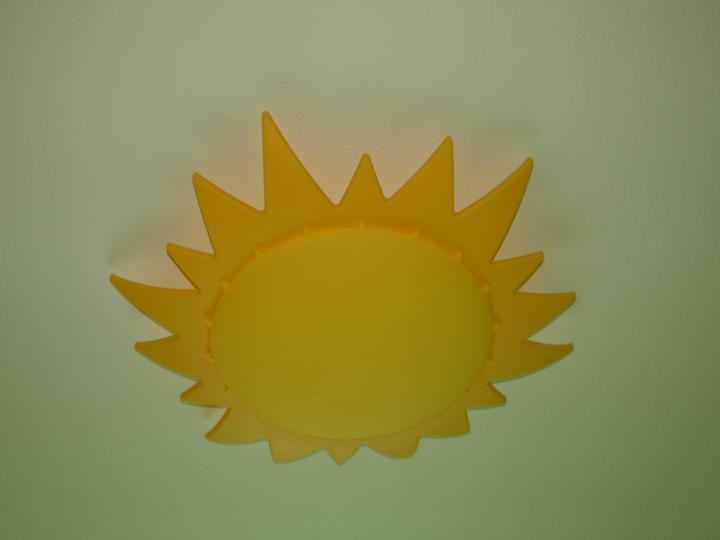 Sluníčko na stropě... IKEA