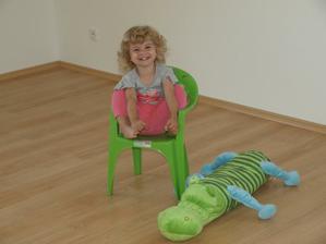 kdo má židli, ten bydlí :-)