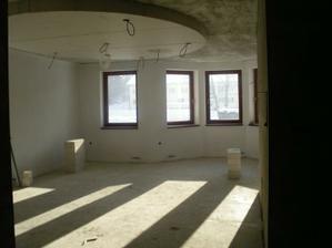 pohľad z chodby do obývačky