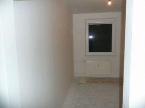 Vymaľovaná spálňa