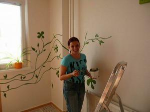 Naša skvelá maliarka Heňa ... ďakujemeeee ... a tešíme sa na ďalšie výtvory ;-)