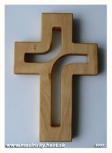 Na tento krížik si budeme prisahať vernosť a lásku ... už je na ceste k nám ;-) ďakujeme p. Mušinský