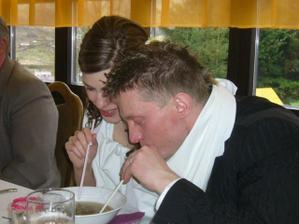 ...dojíždění polívky ;-)