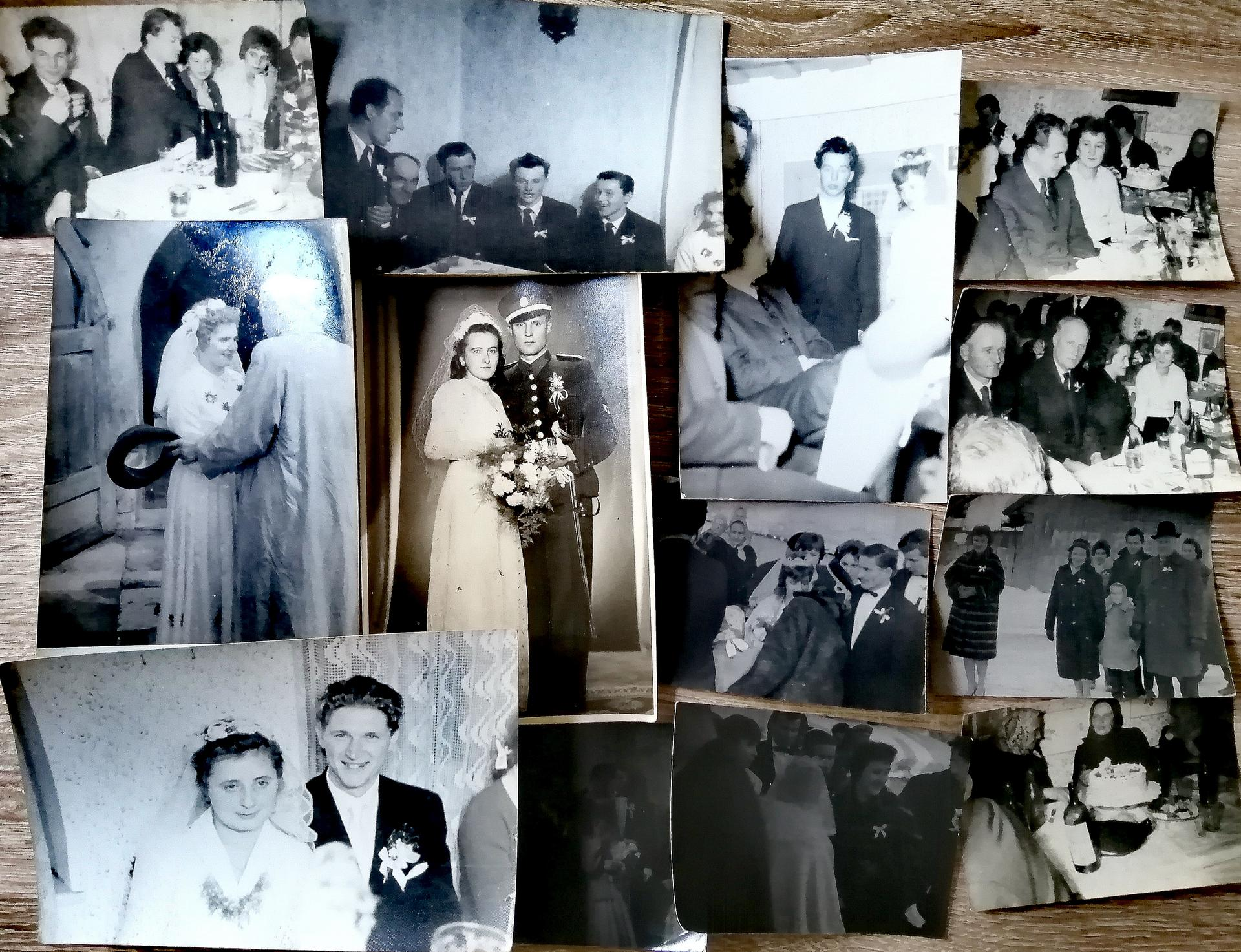 Milujem staré rodinné fotky zo svadieb ❤️❤️❤️ - Obrázok č. 3
