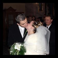 prvý manželský bozk :-)