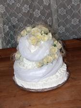 krásna torta, ktorá bola aj veľmi výborná