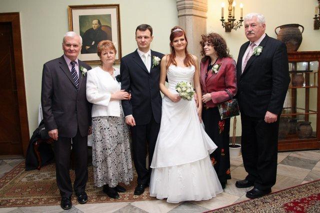 Lucka Trajčíkova{{_AND_}}Miško Stančík - s rodičmi