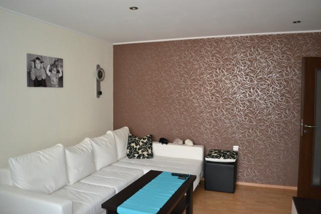 Tapeta v našej obývačke - Dokončená tapeta