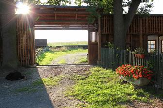 Příjezdová brána
