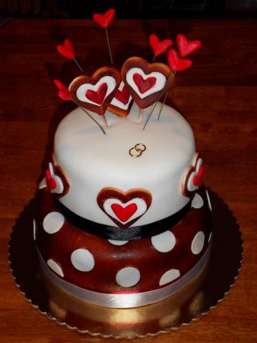 Ake by to malo byt a co uz je :) - tuto tortu som uz objednala..len bude 3oj poschodova :-)