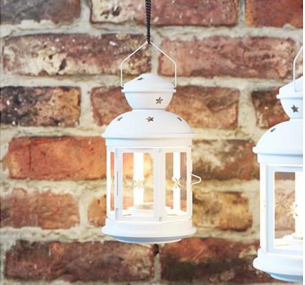 prenajom - biele lampáše - Obrázok č. 3