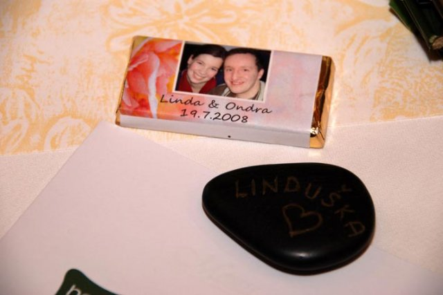 Linda Lahnerová{{_AND_}}Ondřej Bláha - Naše vizitky a čokoládky