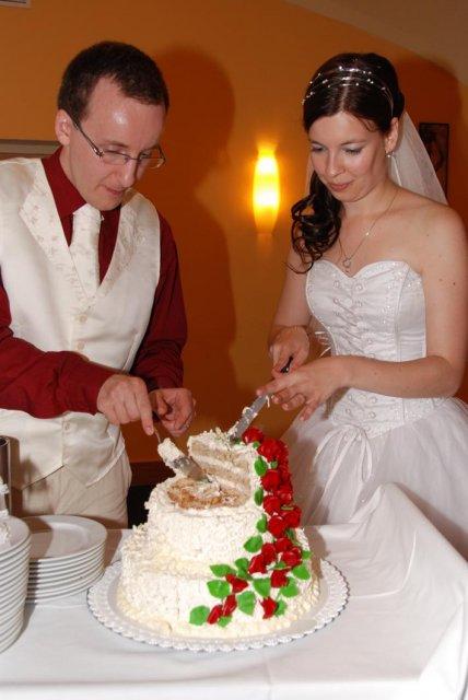 Linda Lahnerová{{_AND_}}Ondřej Bláha - Svatební dort