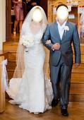 svadobné šaty značky La Sposa, 36
