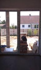 7.7.2014 pohľad na juh z obývacej izby...
