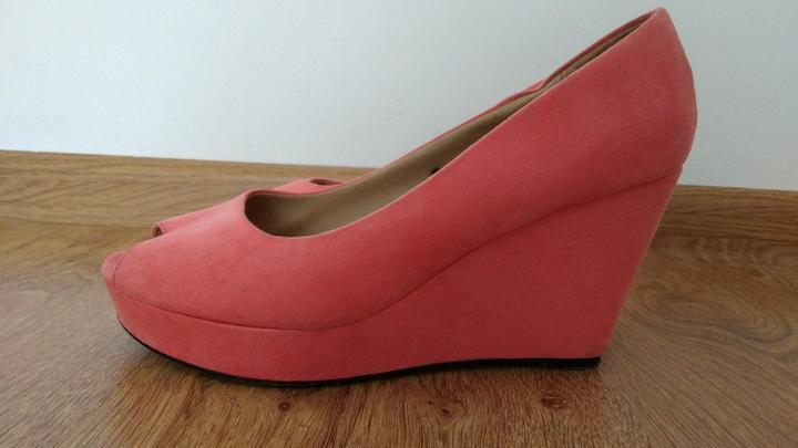 Lososové topánky na platforme - Obrázok č. 3