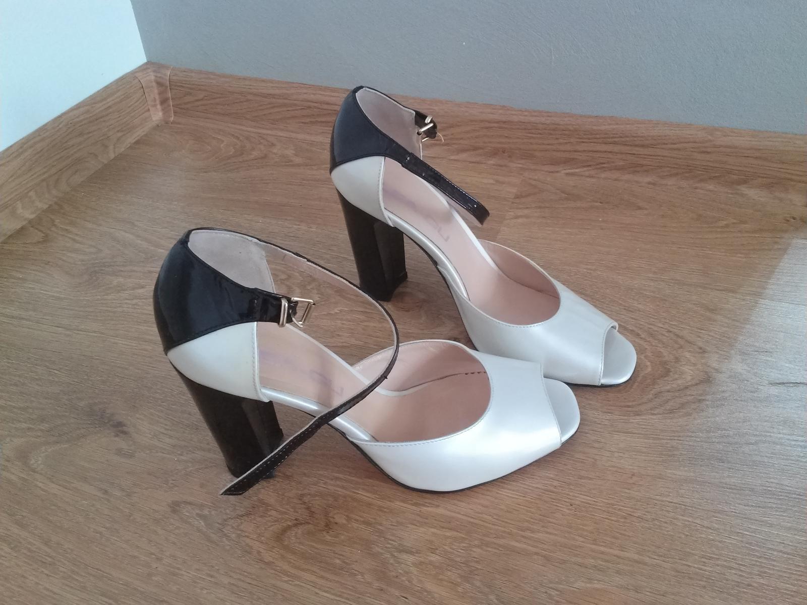 Lodičky, sandále zn Lea-Gu - Obrázok č. 4