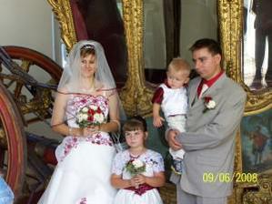 Rodinka Bořilová a neteř Deniska