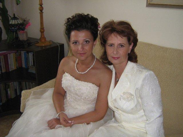 Janka PASTVOVÁ{{_AND_}}Palko POBEHA - s mojou drahou maminkou pred sobášom