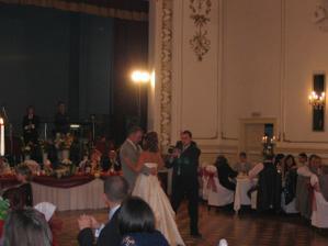 Prvý tanec s manželom,