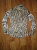Lesklá pruhovaná košile, XS