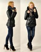 černý kabátek, S
