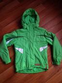 Zeleno-bílá bunda zn. SAM, S
