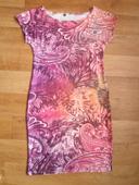Vzorované šaty, S