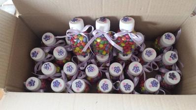 Fľaštičky s lentilkami pre deti