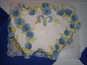 Mňam tortička od super žienky a kamarátky Ivanky z L.Hrádku, priniesla manželova mamka