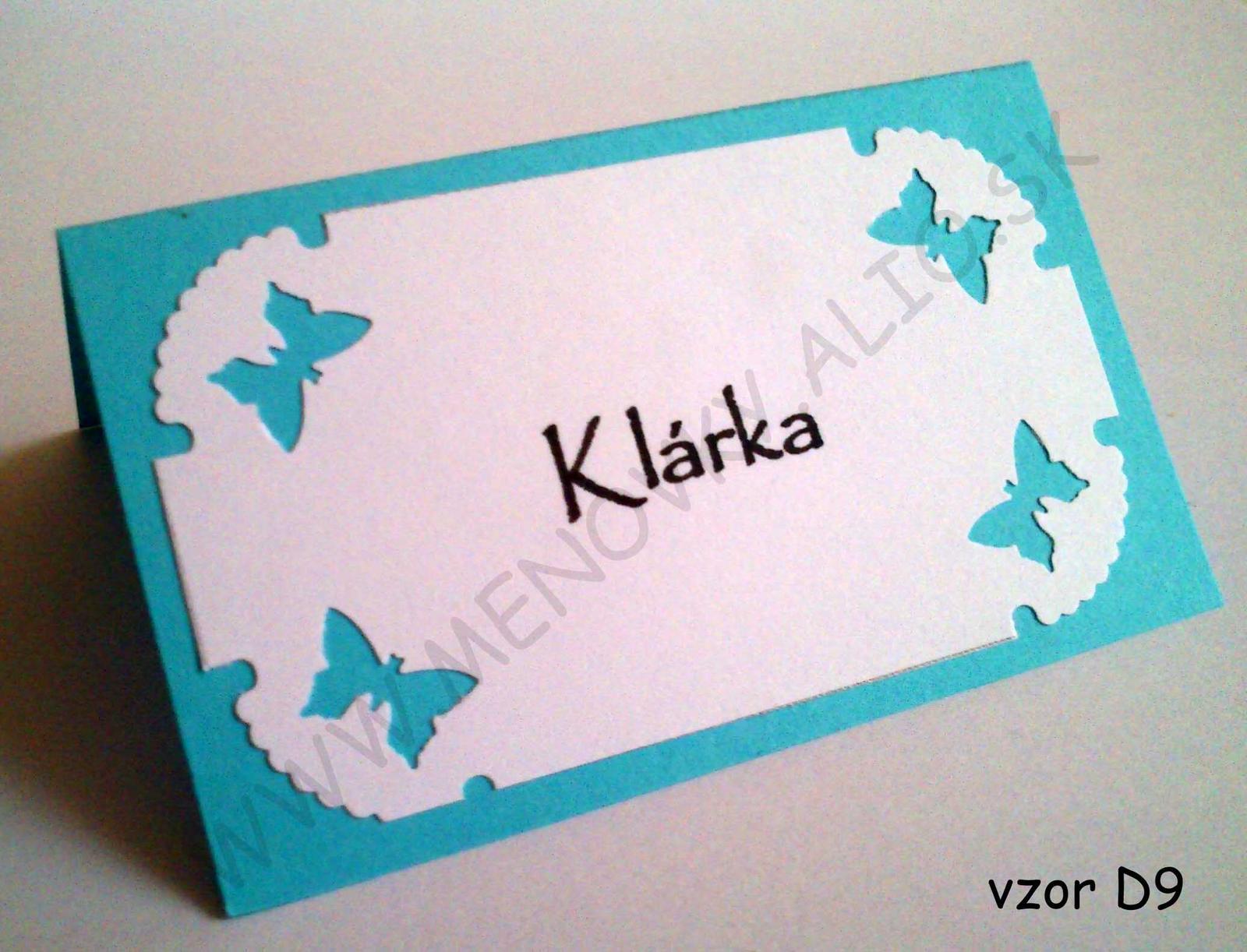 menovky v tyrkysovo modrej farbe - Obrázok č. 2