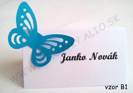 motyl 3D (dierkovany) - Obrázok č. 1