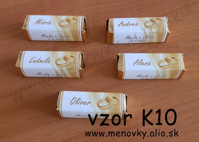 cokoladky pre hosti - rozne druhy cokoladok - Obrázok č. 2