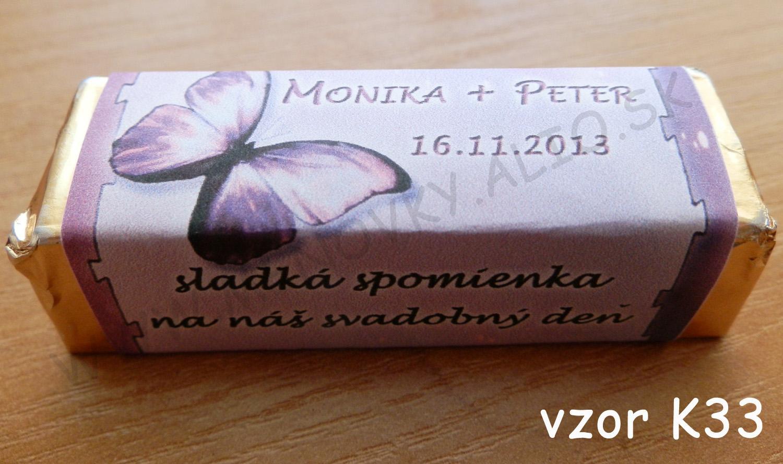 cokoladky pre hosti - rozne druhy cokoladok - Obrázok č. 1