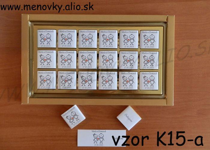 cokoladky pre hosti - malicke - Obrázok č. 4